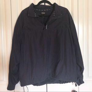 PING quarter zip dark blue pull over jacket golf